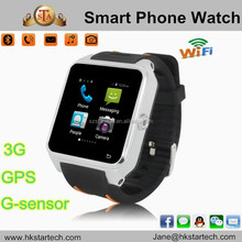 S82 Smart Watch Android Watch Phone 3G WCDMA Smart phone Android 4.4 MTK6572 Dual Core GPS Bluetooth 4.0