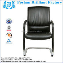 180 degree swivel plate leather dining office uniform designs for women chair BF8126A3
