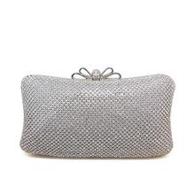 2015 Fashion Clutch hard case bag with Shining Rhinestone