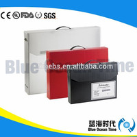 100% Virgin Polypropylene Resin Plastic File Box With Handle