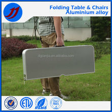 New Arrival OEM Design aluminum folding table and chair with good offer