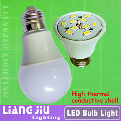 Lowest cost & High quality LED bulbs! Smart lighting 3w 5w 7w 9w E27/B22 LED lights 320 degree with new design high lumen