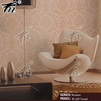home decoration Self adhesive wallpaper manufacturer