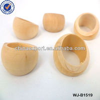 Unfinished wooden ring/big wooden ring stock/DIY jewelry WJ-B1519