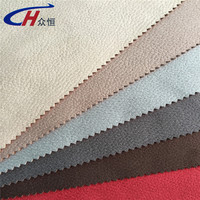 Haining 100%Polyester imitation leather fabfics bronzing suede fabrics/sofa cover/polyester material