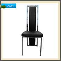 specification of dining chairs dining room chairs black lacquer DC004
