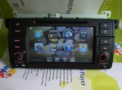 7inch single din car multimedia TV car navigation for bmw e46 navigation system digital player DJ7062