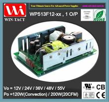 1U Open Frame 12v dc switching power supply 200w