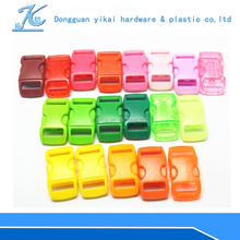 high quality curved plastic clip buckle,plastic buckles for backpacks,quick release buckle for dog collar