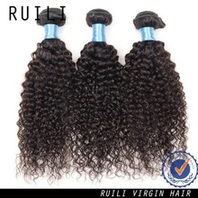 Long hair high quality 6a grade 320inch malaysia curly hair extensions
