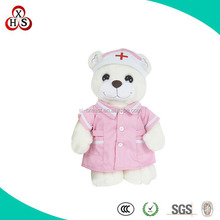 2015 OEM Cute New Arrival Plush Nurse Bear Toy