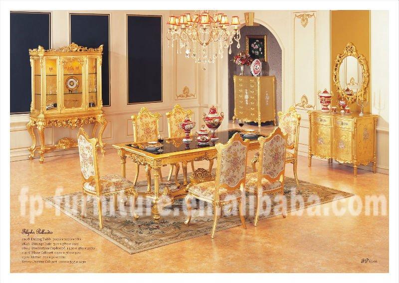 Klassieke meubels villa meubels luxe eetkamer meubels eettafel eetkamer sets product id - Meubels set woonkamer eetkamer ...