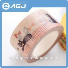 Fácil rotura de dibujos animados personalizada auto-adhesivo de cinta para la decoración del hogar