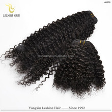 Fashion 2015 Hair Brands Shedding Free Can Be Dyed Full Cuticle black curly hair fakes