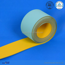 2.2MM thickness light green and yellow hot sell China belt conveyor machine