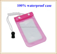 high quality waterproof mobile phone bag,wholesale waterproof swimming pouch