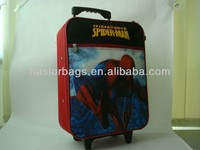 Kids luggage travel bags with trolley sleeve