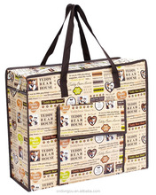 China Supplier Laminated PP Woven Shopping Bag/Design Clothes Shopping Bag