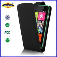 PU Leather Flip Case Cover for Nokia Lumia 530 Cellphone Accessories Wholesale Laudtec
