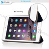 slim stand tablet case for ipad mini 4,with transparent cover for ipad mini 4