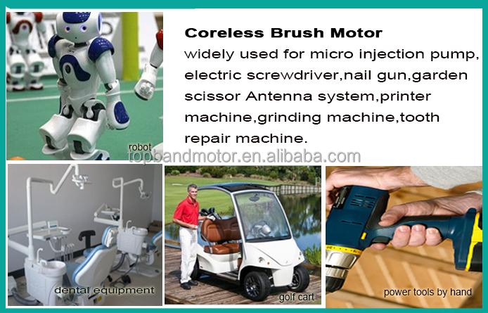 32mm 12v coreless dc motor with gearbox skateboard wheel motor