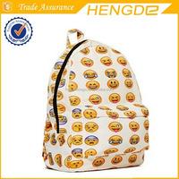 Cute Smilies school bag children shoulder backpack professional manufacturer
