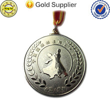 high quality custom metal medal with gold silver bronze