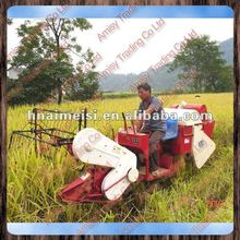 Amisy famous Mini rice paddy combine harvester/mini rice wheat grain harvest machine/0086-13733199089