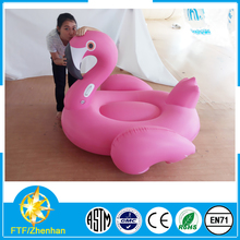 popular infltable swan swimming pool float giant flamingo