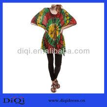 El último 2013 ladies' de colores rasta haciendo estragos de impresión superior( dq9226)