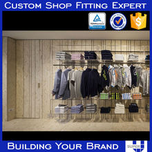 High Quality custom wooden unique made Units Clothing Store
