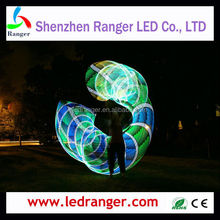 10mm width WS2812B advertising LED Light Strip for Photon LED Hula Hoop, Photon LED Hoop,LED Helix hoop flow