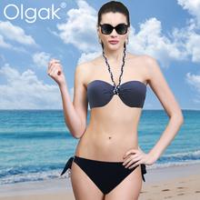 olgak2015 nuova moda sexy costumi da bagno bikini sexy il suo petto ascensore i fianchi