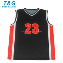Sportswear custom kid basketball uniform design
