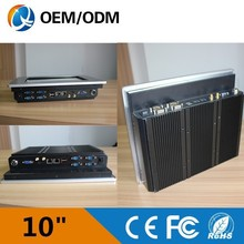 10 inch Industrial embedded led panel embedded system