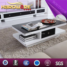 living room furniture pop up wooden glass coffee table from China supplier