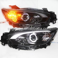 2012-2014 Year for Mazda cx-5 LED Strip Headlamp with HID Xenon Bulb LF