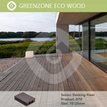 European wind restoring ancient ways, natural wood grain effect, easy to install outdoor waterproof flooring decking