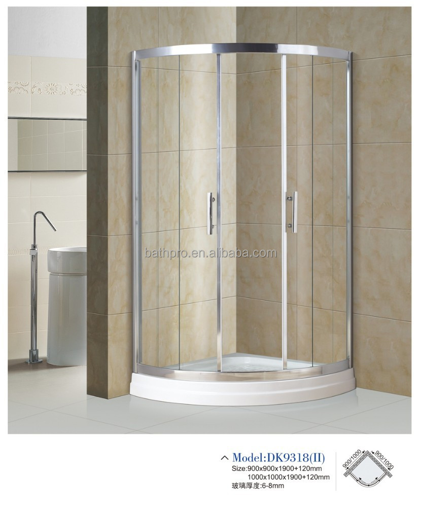 how to clean anodized aluminum shower frames