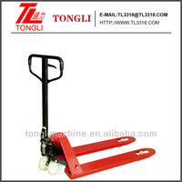 2ton TL0422-2A Hand Pallet Truck WITH RUBBER SILENT WHEELS 2000kg