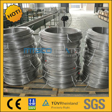 China alibaba hot sale 304 stainless steel coiled tubing