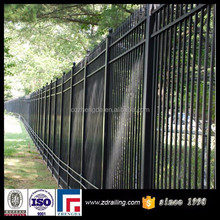high quality metal fence design, iron fence