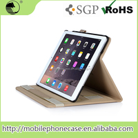 New Design leather protective tablet cover case For Apple iPad Air 2