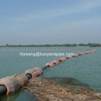 DN554 UHMWPE floating poly dredge pipe