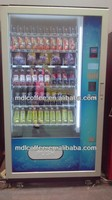 Multi-currency operated snack &food& cold drink vending machine with CE Approval LV-205L-610