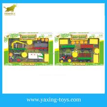 1:43 Happy Farm diecast model car play set YX001147
