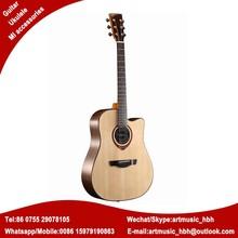 OEM guitar brand logo acoustic guitar