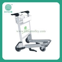 High Qquality ce approval airport luggage trolley