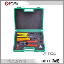 LY-TK21 Network Fiber Optic ToolS Kit