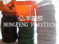 fire resistant and large diameter plastic air duct hose used in underground project